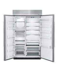 KitchenAid® 30.0 cu. ft 48-Inch Width Built-In Side by Side Refrigerator with PrintShield™ Finish