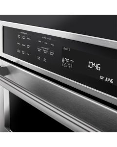 """KitchenAid® 27"""" Combination Wall Oven with Even-Heat™ True Convection (lower oven)"""