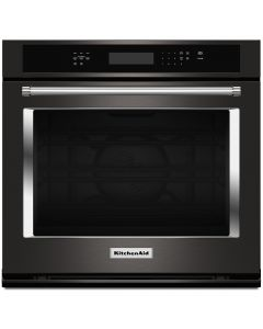 """KitchenAid® 30"""" Single Wall Oven with Even-Heat™ True Convection"""