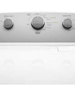 Whirlpool® 7.0 cu.ft Top Load Electric Dryer with Wrinkle Shield™ Plus