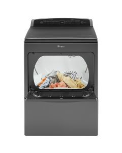 Whirlpool® 7.4 cu.ft Top Load HE Electric Dryer with AccuDry™ , Intuitive Touch Controls