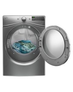 Whirlpool® 7.4 cu.ft. Front Load Electric Dryer with Advanced Moisture Sensing, 8 cycles