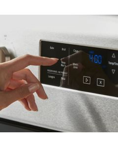 Whirlpool® 5.3 cu. ft. Whirlpool® electric range with Frozen Bake™ technology