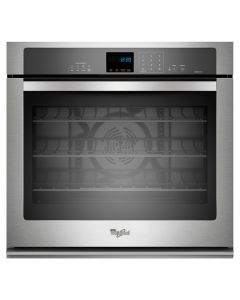 Whirlpool® Gold® 5.0 cu. ft. Single Wall Oven with SteamClean Option